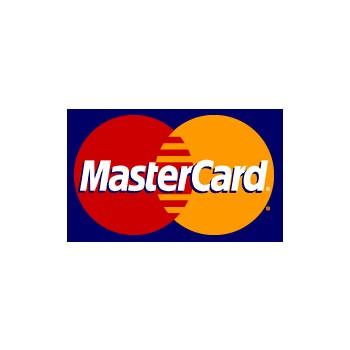 Master Card Logo Sticker (D72)