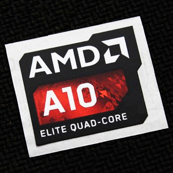 New amd a10 elite quad core logo sticker modsticker com