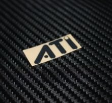 ATi Metal Logo Sticker