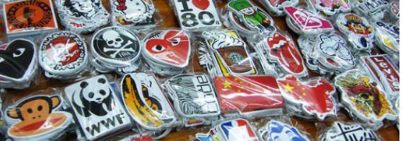 Trendy & Cartoon Stickers