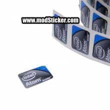 Intel Atom Logo Sticker