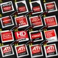 New AMD ATi Radeon Graphics Case Badge Logo Sticker (16 Styles)