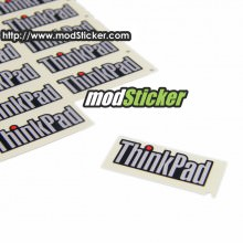 ThinkPad Metal Logo Sticker