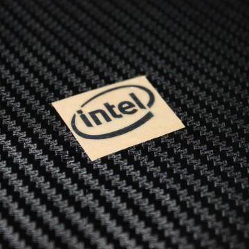 Intel Metal Logo Sticker