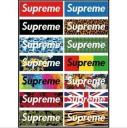 Supreme Logo Stickers Set (Z24)