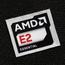 (New) AMD E2 Essential Logo Sticker