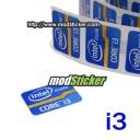Intel Inside Core i3 Logo Sticker (Blue)
