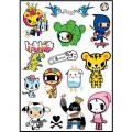 Tokidoki Logo Stickers Set (Z62)