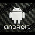 Android Metal Logo Sticker