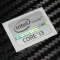 New Intel Inside Core i3 Logo Sticker (Silver)