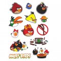 Angry Birds Logo Stickers Set (M21)