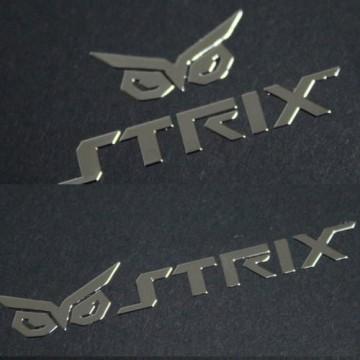 Asus STRIX Logo Metal Sticker