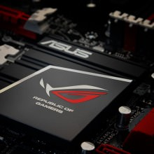Asus Republic of Gamers ROG Metal Logo Sticker